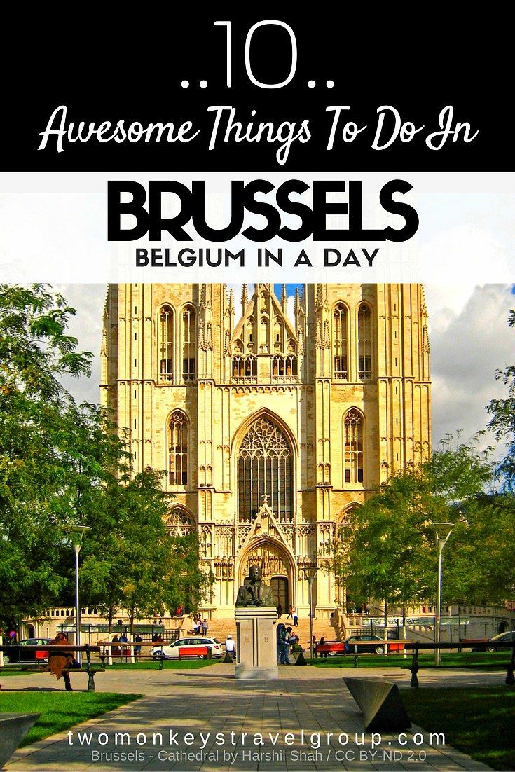 10 Awesome Things to Do in Brussels, Belgium in a Day @VisitBrussels