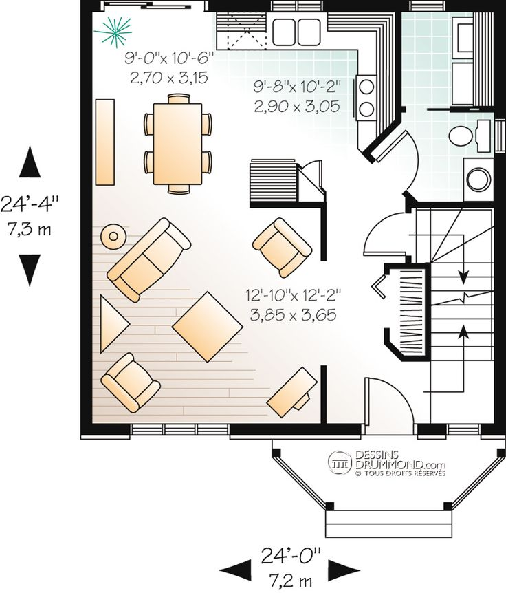 14 best plan maison images on Pinterest Modern homes, Build house