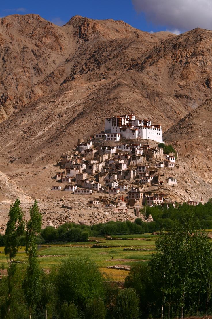 Chemrey Monastery in august Chemrey Monastery mese di agosto