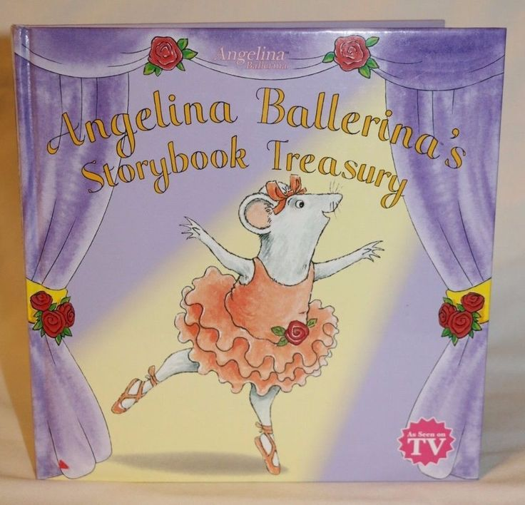 Angelina Ballerina's Storybook Treasury by Holabird Great Colorful Illustrations