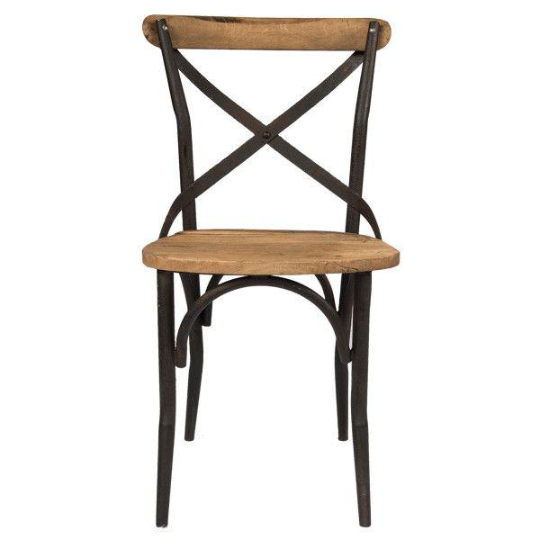 Прекрасный деревянный стул с основанием из металла.             Метки: Венские стулья, Кухонные стулья.              Материал: Металл, Дерево.              Бренд: American Interiors.              Стили: Лофт, Прованс и кантри.              Цвета: Коричневый.