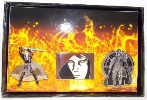 Disney-Star-Wars-Weekends-Anakin-Transformation-2005-Boxed-Pin-Set