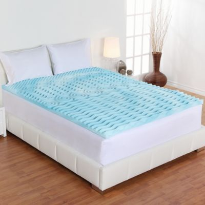Buy Fresh Rx® Orthopedic Foam Queen Mattress Topper from Bed Bath
