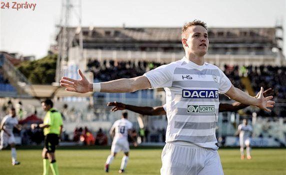 Designér vítězství. Jankta v Udinese chválí, sledují ho skauti z Anglie
