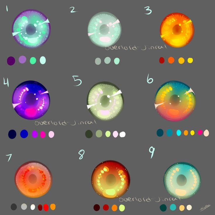 More Eye Swatches by Overlord-Jinral.deviantart.com on @deviantART