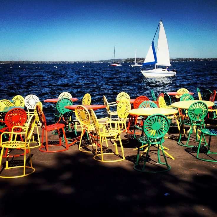 The Terrace. Madison, Wisconsin