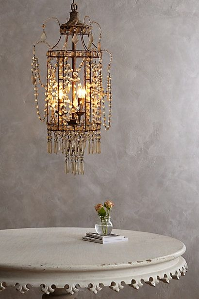 Crystal Palace Chandelier - anthropologie.com $498.00