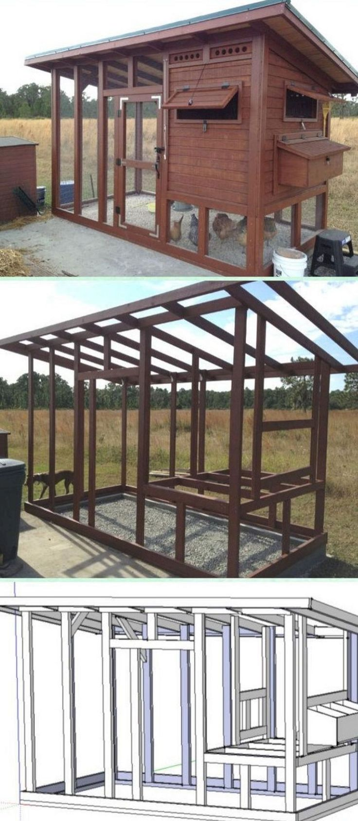 The Best Creative and Easy DIY Chicken Coops You Need In Your Backyard No 60