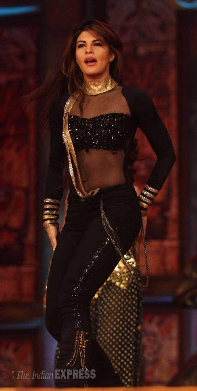 Jacqueline Fernandez Kajol at the Umang Mumbai Police Show 2015. #Bollywood #Fashion #Style #Beauty