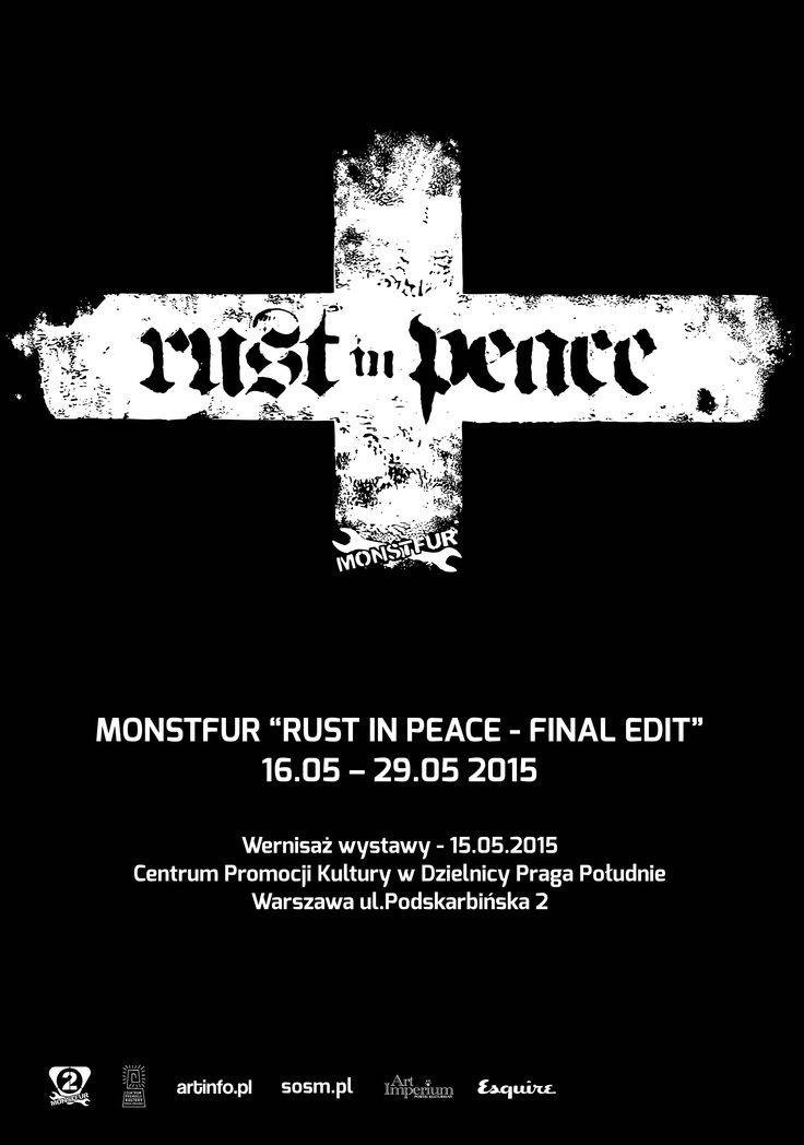 MONSTFUR'a RUST IN PEACE