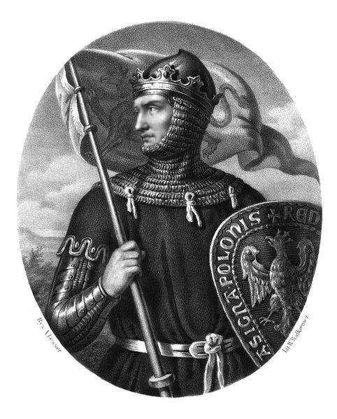 Przemysł II by Aleksander Lesser.....Przemysł II (ur. 14 października 1257 w Poznaniu, zm. 8 lutego 1296 w Rogoźnie) – władca z dynastii Piastów (ostatni męski przedstawiciel linii wielkopolskiej), książę poznański w latach 12571279, książę wielkopolski w latach 1279–1296, książę krakowski w latach 1290–1291książę Pomorza Gdańskiego w latach 1294–1296, król Polski w latach 1295–1296.