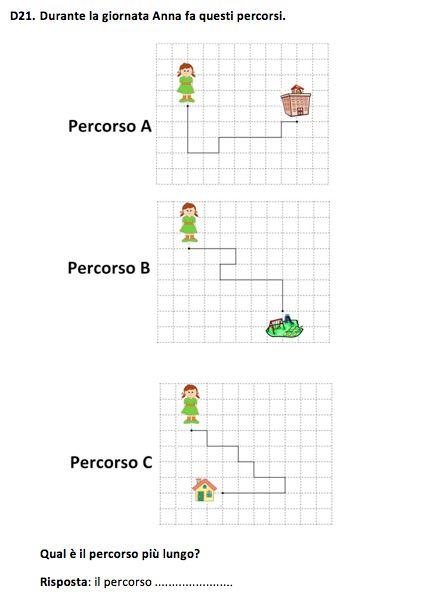 Prove INVALSI di Matematica, classe II