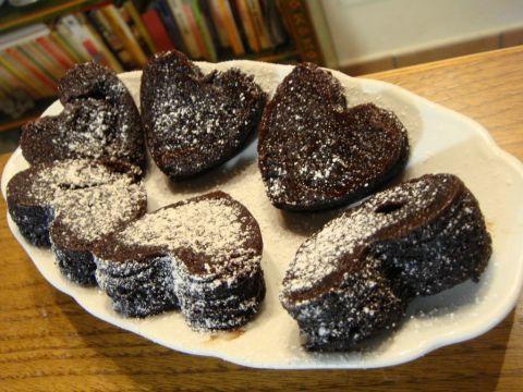 Muffins tutto cacao in 5 minuti!