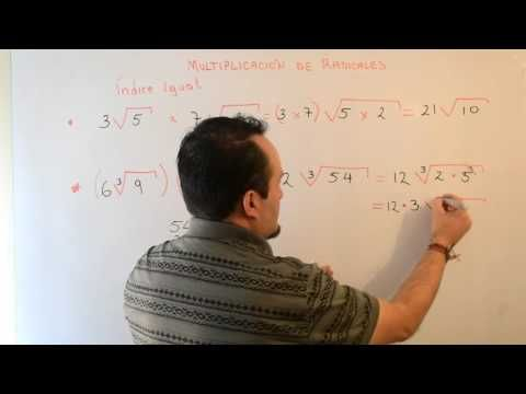 Multiplicación de Radicales | Clases Gratis de Matemáticas - YouTube