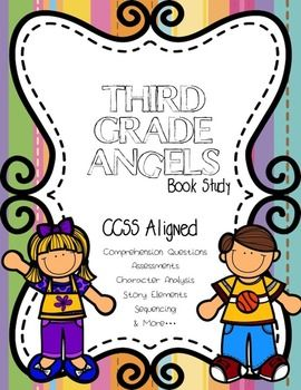 """This bundle contains 2 book studies. Fourth Grade Rats and Third Grade Angels by Jerry Spinelli. There are 89 total pages. You can find individual book study info here:http://www.teacherspayteachers.com/Product/CCSS-Aligned-Third-Grade-Angels-by-Jerry-Spinelli-Book-Study-48-Pages-1210873""""This book study is common core aligned and will fit into end of 2nd grade or 3rd grade curriculum nicely."""