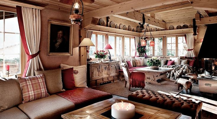 swiss chalet interiors pics   Chalet Maldeghem Traditional interiors 2