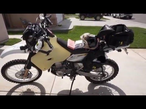 Suzuki DR-Z400S setup and what I carry - YouTube