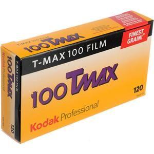 Kodak T-Max 100, 120 Size (5-pack)  $22.50