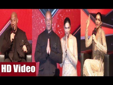 XXX movie promotion in India | Deepika Padukone, Vin Diesel | Uncut video.