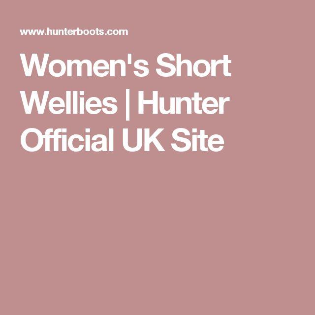 Women's Short Wellies | Hunter Official UK Site