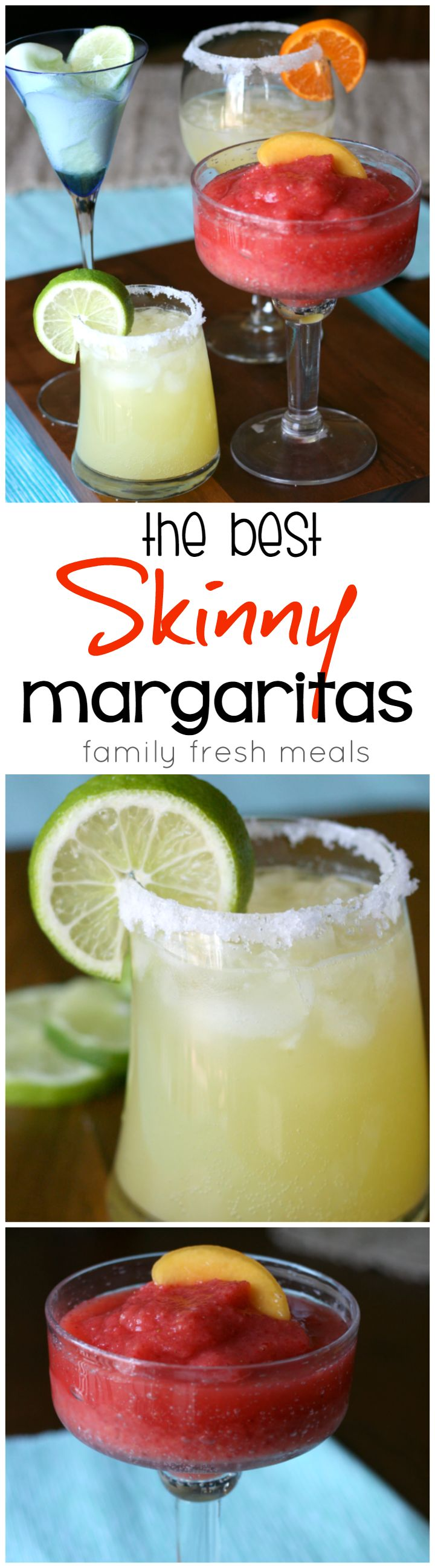 The Best Skinny Margarita Recipes. These are Super Skinny and super yummy!
