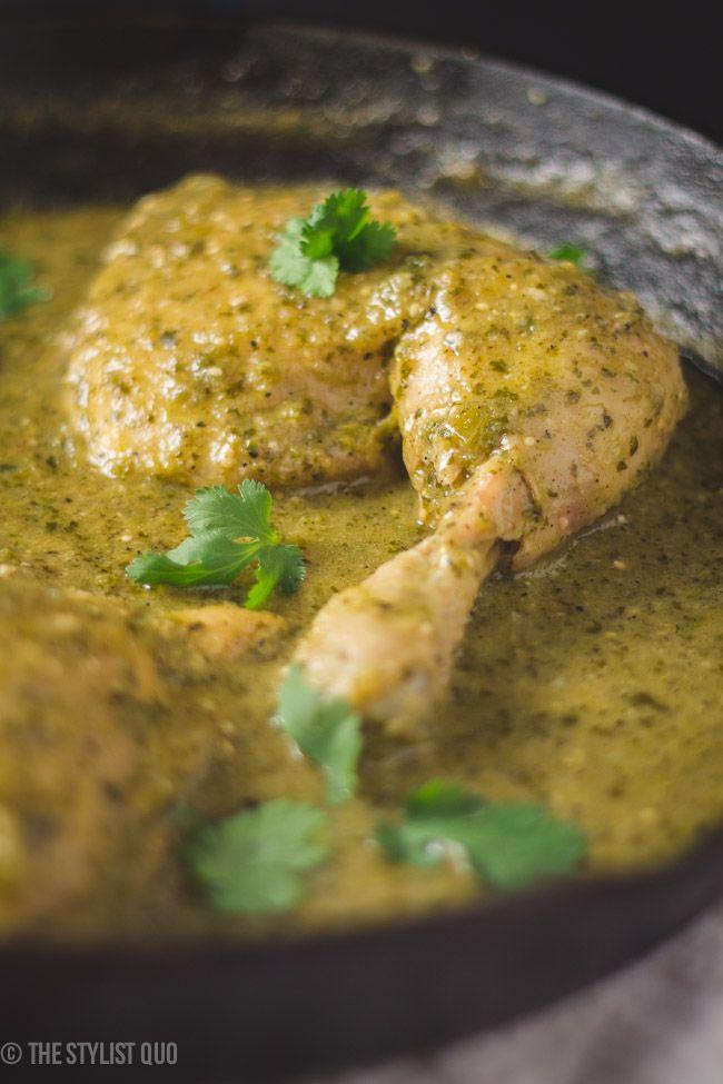 Green Mole Chicken (Pollo en Mole Verde), from 40 Aprons