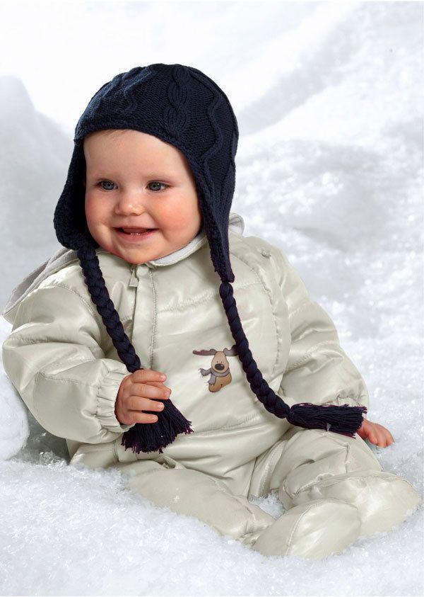 Baby Schneeanzug creme Gr.68