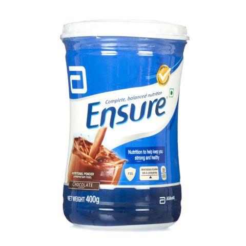 Ensure Nutritional Powder #Chocolate Flavour Jar