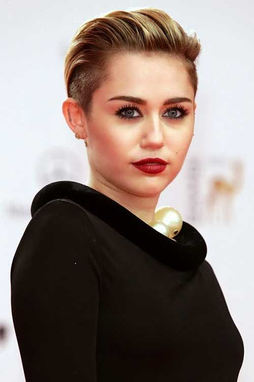 Miraculous 1000 Images About Slicked Back On Pinterest Short Hairstyles Gunalazisus
