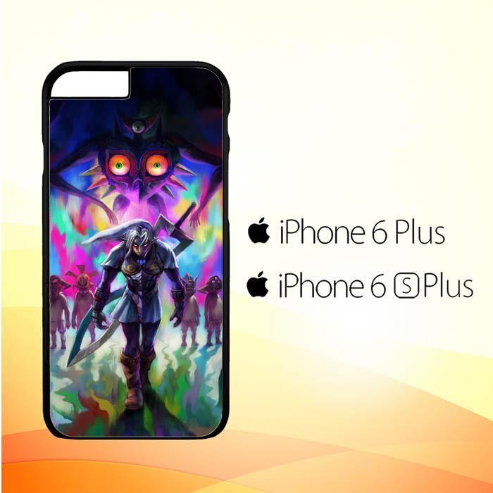 legend of zelda majora's mask oni Y0938 iPhone 6 Plus|6S Plus Case