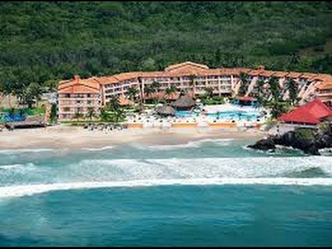 HOTEL BLUE BAY ANGELES LOCOS , PLAYA COSTA ALEGRE, TENACATITA JALISCO M...