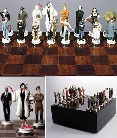 12 Coolest Chess Sets EVER