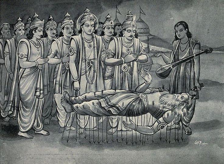 Mahabharat- Bhishma - VISHNU SAHASTRANAMA.