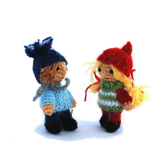 $24.68 - $48 #kindness #elves, #crochet #little #dolls, #girl #elf and #boy elf, #Christmas #gift for #children