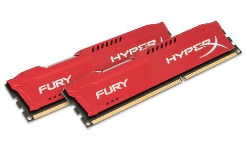Kingston Technology HyperX FURY Red 16GB 1866MHz DDR3