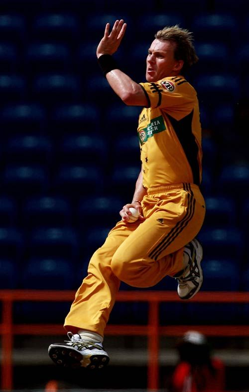 Brett Lee Bowling Action Wallpapers