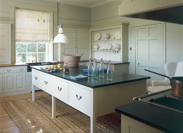 island  like hutch too in back Kitchens in Suffolk - Plain English - Bespoke Designer Kitchens