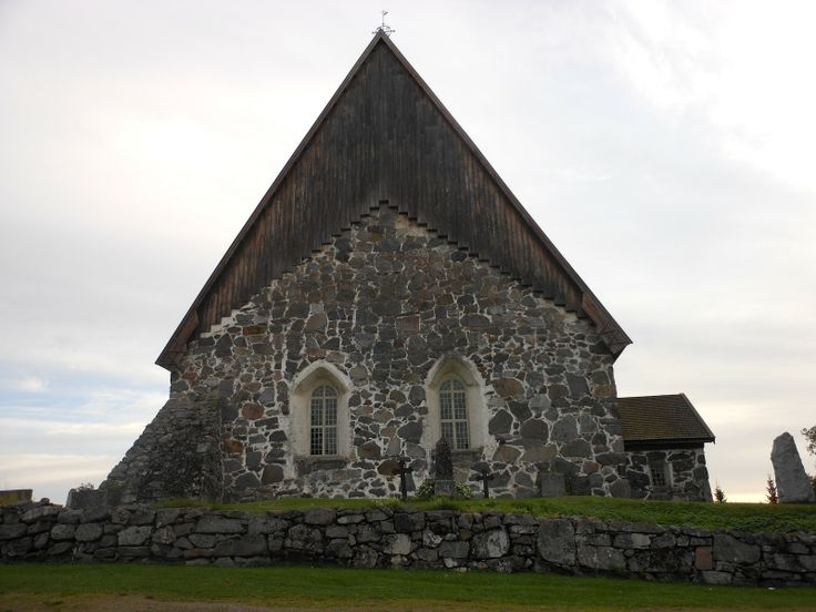 The St Mary's Church of Sastamala is located on a site that used to hold an old wooden church, or maybe several. The church was renovated to its current form in the 1960s. The church features an earth floor, a stone baptismal font from the 13th century, and an impressive collection of wood carvings.  The church is known for its excellent acoustics, which is why it is the main venue for the Sastamala Gregoriana early music festival. The church is open for visitors during the summer.