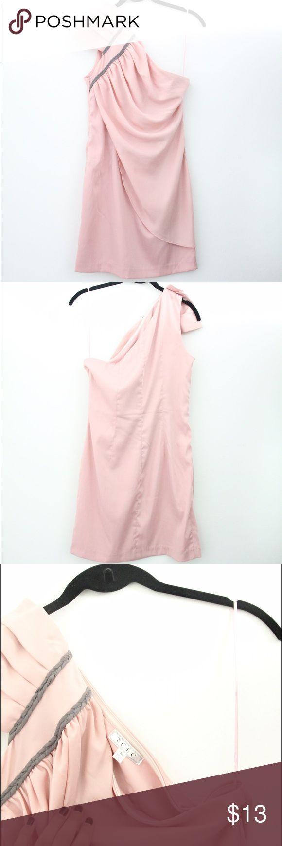 One Shoulder Pink Dress. No returns One Shoulder Pink Dress.No returns. Listed as ASOS for exposure. But from steps! ASOS Dresses One Shoulder