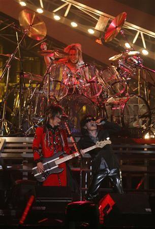 Yoshiki, Heath and Toshi. X Japan