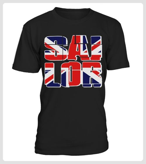 Maritme Saling Union Jack UK Flag TShirts (*Partner Link)