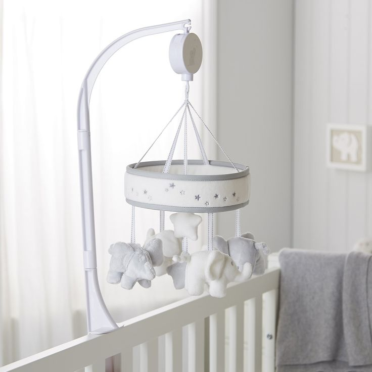 Kimbo And Indy Musical Mobile | Bedroom  Accessories | Childrens' Bedroom | The Little White Company | The White Company UK