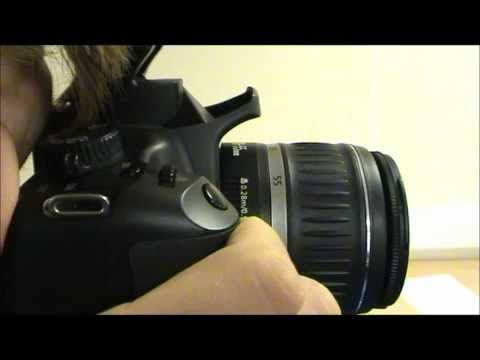 Beginner tutorial video for the Canon EOS 1000d.