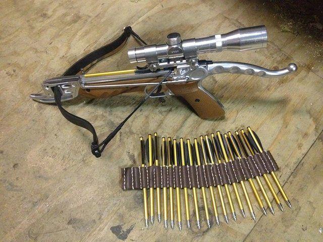 custom crossbow pistol