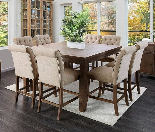 24+ Rustic counter height dining table sets Top