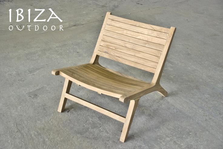 Nieuw! de vintage lounge stoel voor buiten! compleet van recycled teak en perfect voor in de tuin of op de veranda. Bij interesse graag even mailen naar ibizaoutdoor@gmail.com