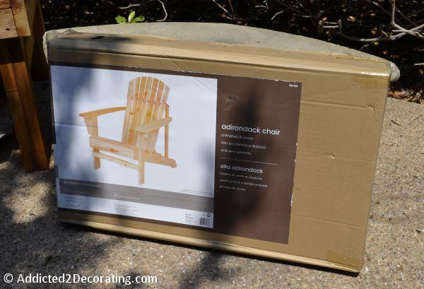cheap adirondack chair kit