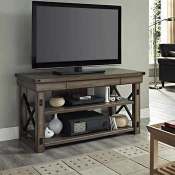 Wildwood Rustic Grey 50 in. Television Stand
