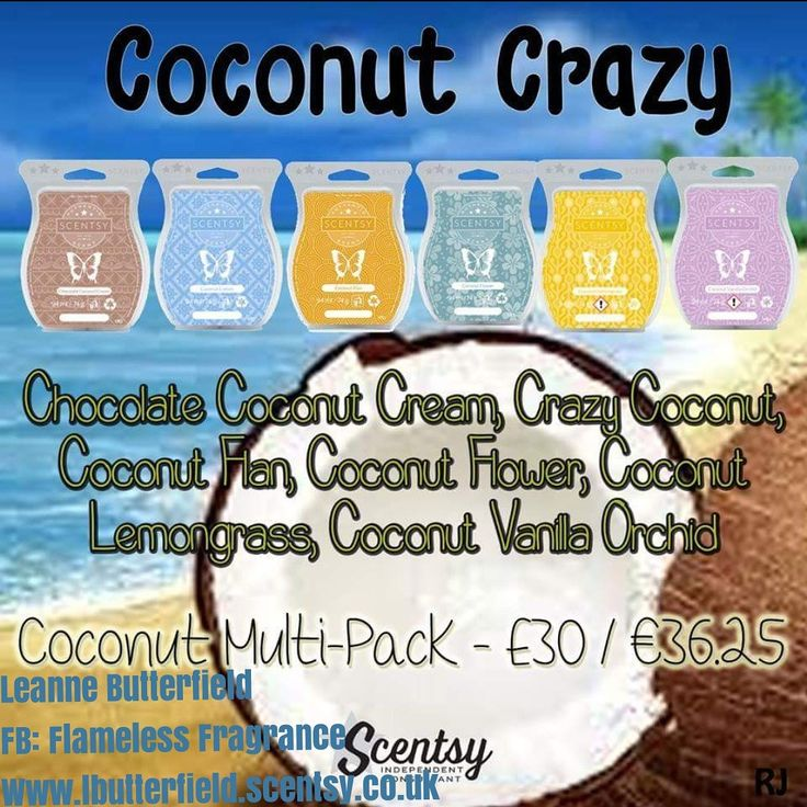 Coconut package.  #coconut #leannesmellsthescent #sixpack
