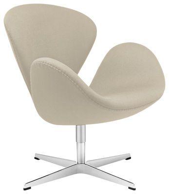 Fauteuil Swan chair version tissu  2979-